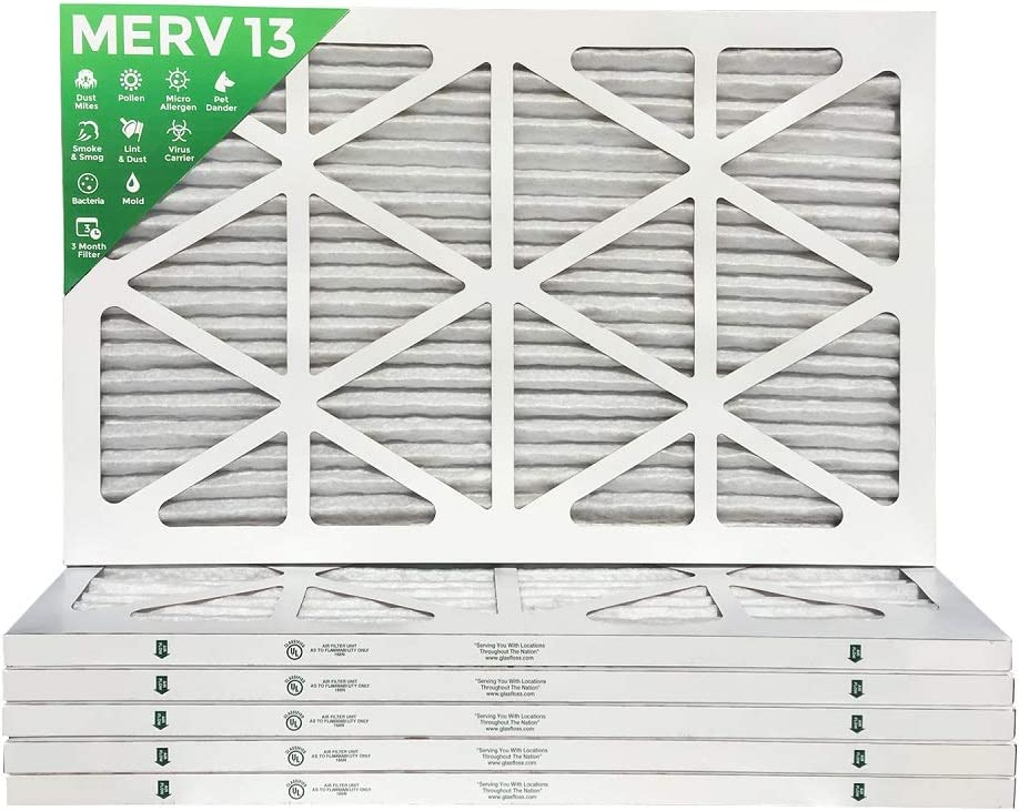 12x12x1 Merv 13 4 pack MPR 2200 Pleated AC Furnace Air Filters