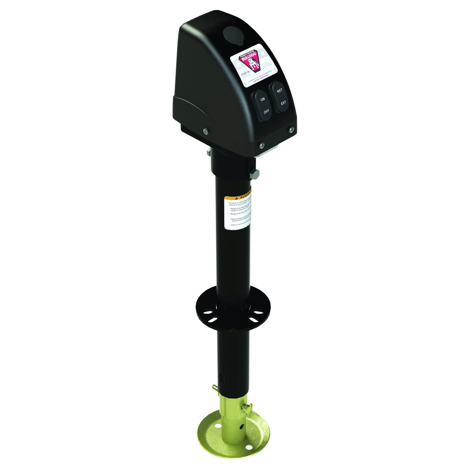 Bulldog 500187 Black A-Frame Jack with Powered Drive by Bulldog