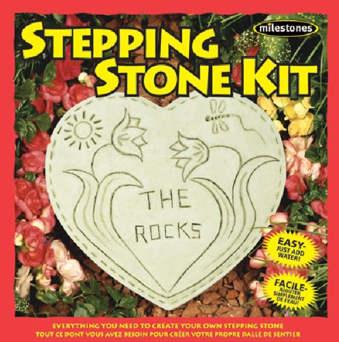 Midwest Products Basic Heart Stepping Stone Kit (Kit Garden Craft)