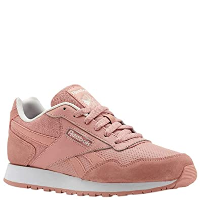 4d27694f1057 Reebok Women s Classic Harman Run LT Fashion Sneakers  ChalkPink PalePink White 7 B(