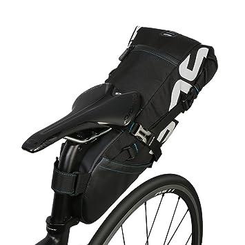 Bolsa de Sillín de Bicicleta Poliéster Resistente Bicicleta ...