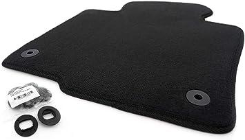 Kh Teile Fußmatte Passend Für Passat 3c Velours Automatte Hohe Qualität 1 Teilig Fahrermatte Schwarz Auto