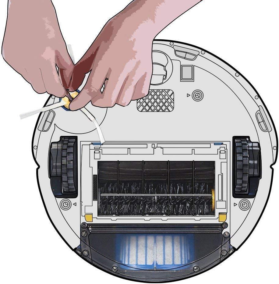 Juego de 10 cepillos de Repuesto para iRobot Roomba 620 630 650 660 Series wiFndTu