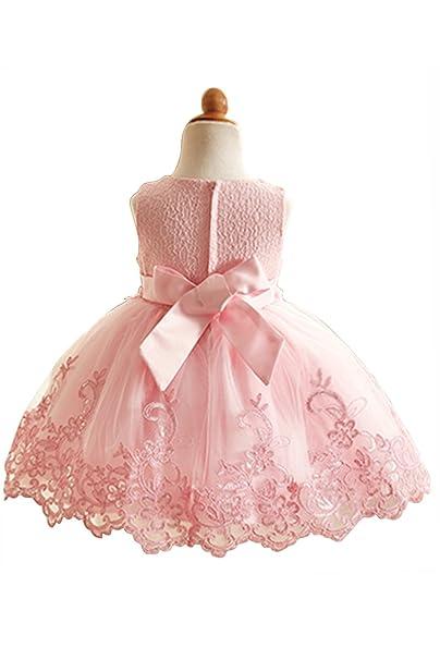 Vestido de niña estilo princesa trapecio A line vestido elegante para boda y fiesta vestido de