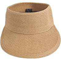ZUMUii Butterme Mujer Mujeres Chica Plegable Sombrero Topless Visera Sombrero Wide Brim Sombrero de Paja Sombrero de…