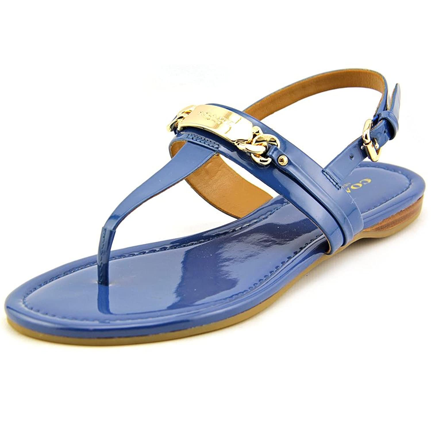 Coach Women's Caterine Patent Leather Sandal