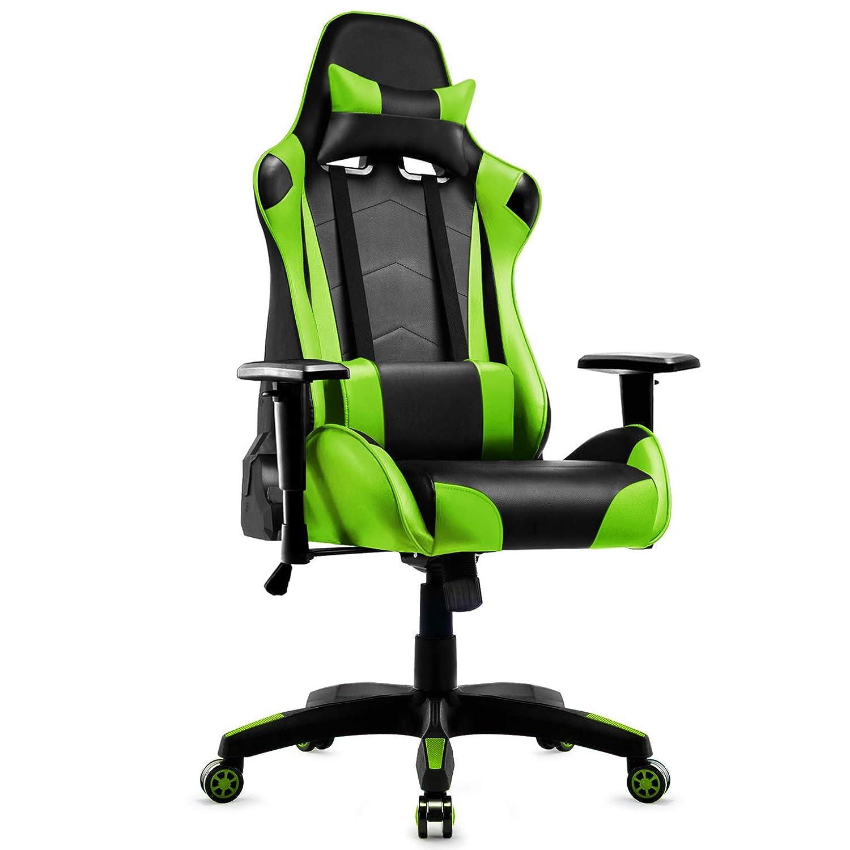 Incredible Grey Computer Chair Pu Gaming Chair With Headrestlumbar Short Links Chair Design For Home Short Linksinfo