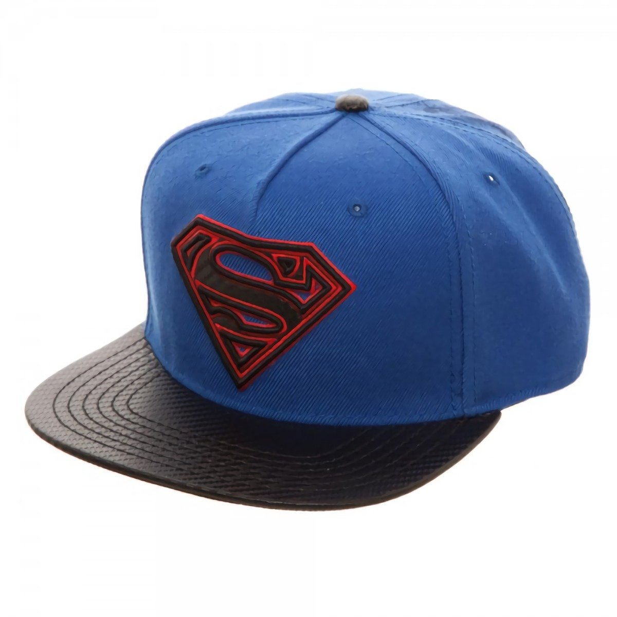 c17b6851e841b Amazon.com  Superman Carbon Fiber Snapback Baseball Hat  Clothing