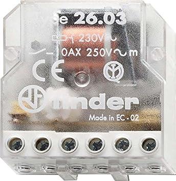 Finder 260382300000PAS - Caja de interruptores de control remoto ...