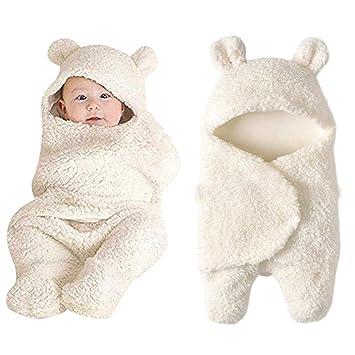 7924c28c26e9 Amazon.com  Lucoo Newborn Baby Boys Girls Cute Cotton Plush ...