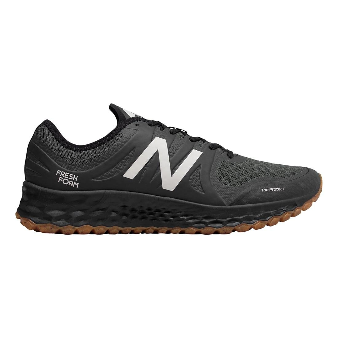 New Balance Men's Kaymin Trail v1 Fresh Foam Trail Running Shoe, Black, 12 D US by New Balance