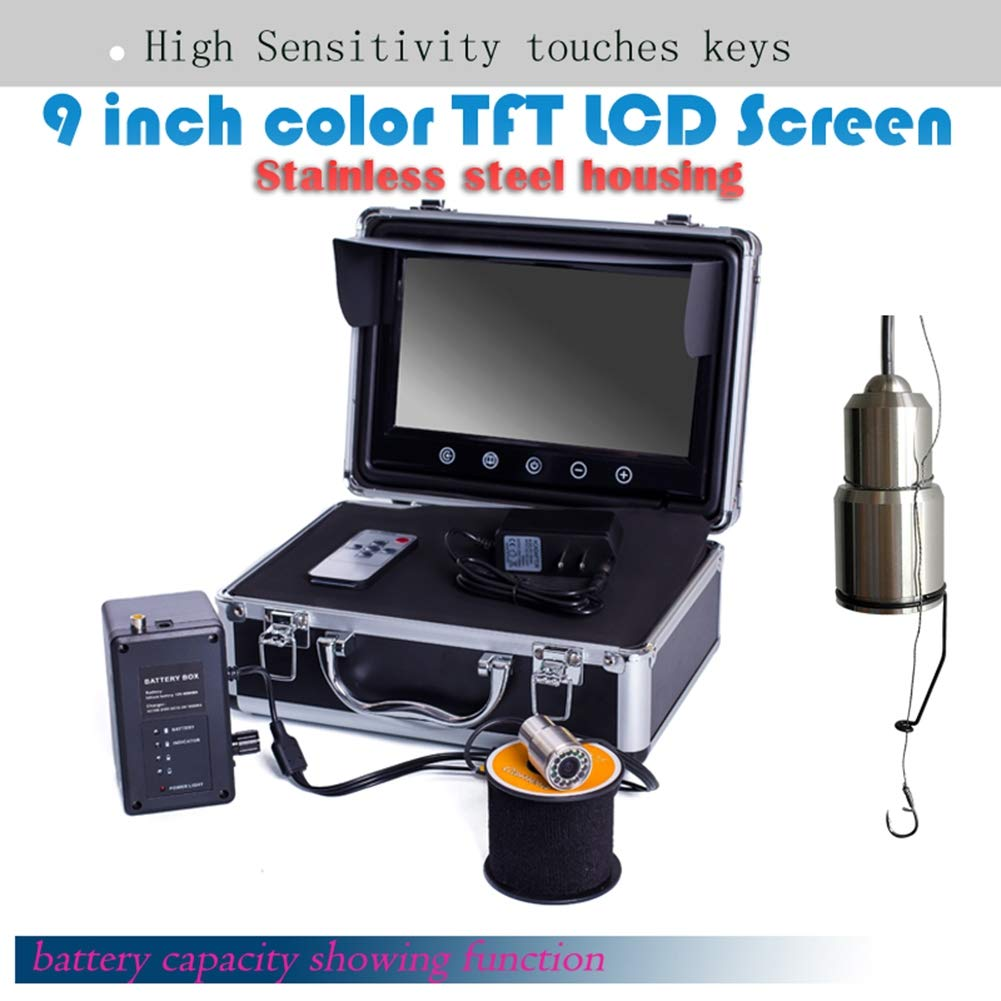 9インチ水中魚群探知機360度HD水中カメラTFTカラーディスプレイCCDとHD B07QL5SH3C 1000TVLカメラ(30M) B07QL5SH3C, DIYのドグーストア:47f0107e --- tandlakarematspetersson.se