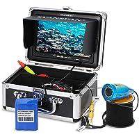 Godyluck Kit De Caméra Vidéo De Pêche sous-Marine, HD WiFi sans Fil