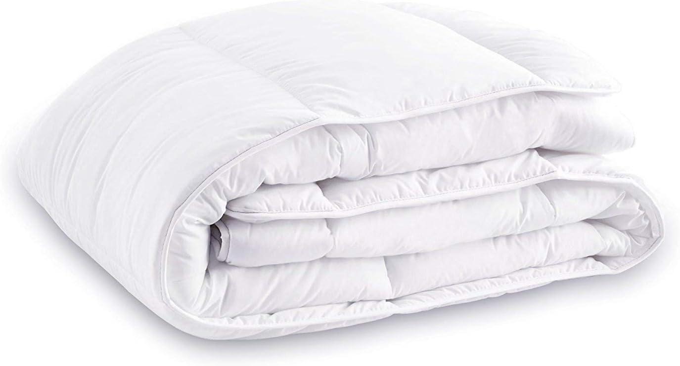 "Celeep Thin Duvet Insert (86""x 86"") - White, All Season Down Alternative Comforter Insert, Hypoallergenic, Soft, Plush Microfiber Fill, Machine Washable, Queen Size"