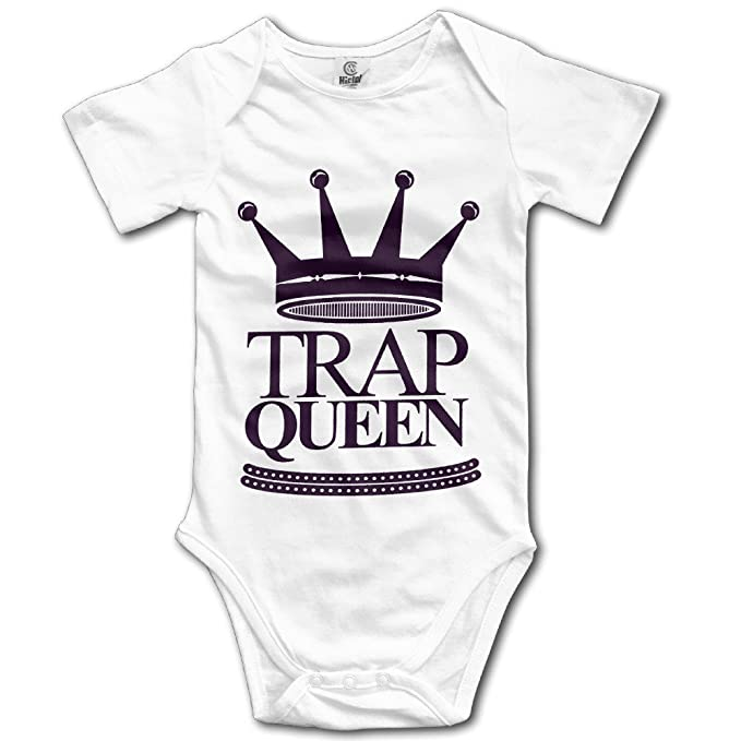 3e225be1e Fetty Wap Trap Queen Baby Girls/Boys Short Sleeve Onesies: Amazon.ca ...