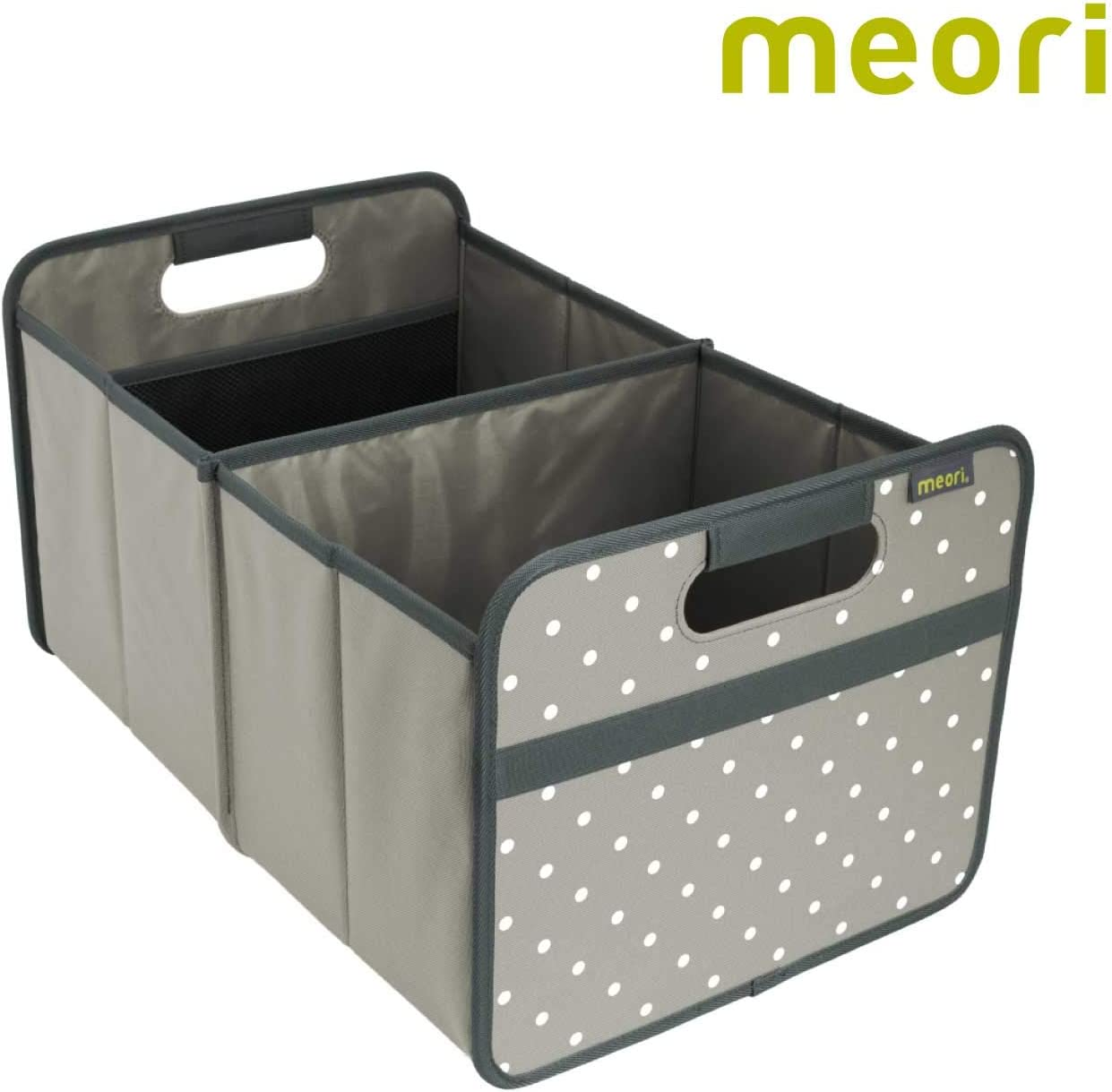 Amazon Com Meori Stone Grey Dots Foldable Box Classic Large Trunk