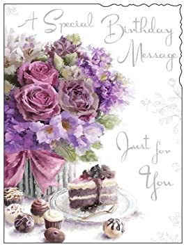 Female Birthday Greetings Card JJ8887