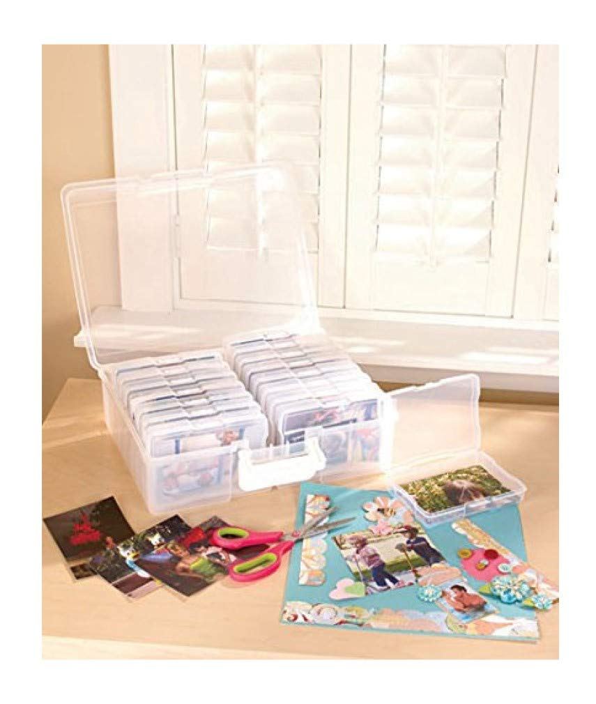 Scrapbooking 1,600 Photo Organizer Case - 16 Inner Cases - Snap Closures by Scrapbooking Photo Organizers