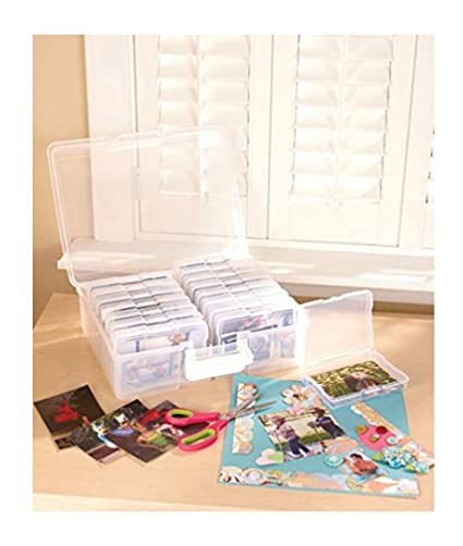 Amazoncom Scrapbooking 1 600 Photo Organizer Case 16 Inner