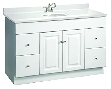 Design House 531145 Wyndham Ready To Assemble 2 Door/4 Drawer Vanity,