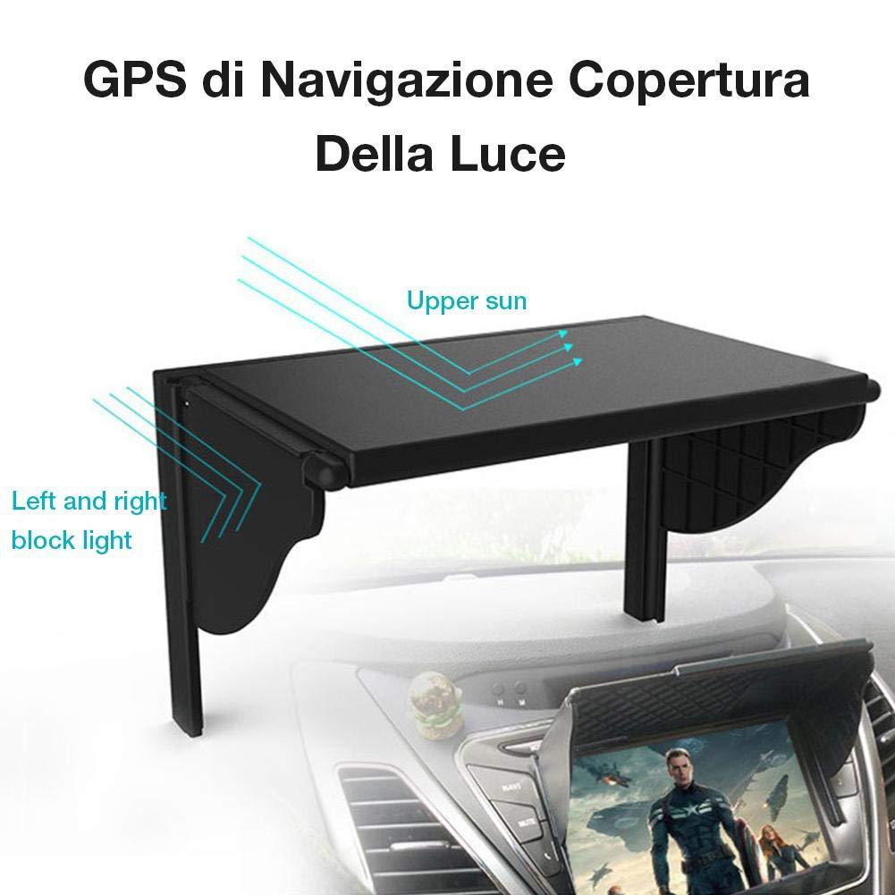 inch Navigatore GPS Portatile Bluetooth SH-Flying Visiera GPS per Parasole per Garmin Multiuso 5.5-10
