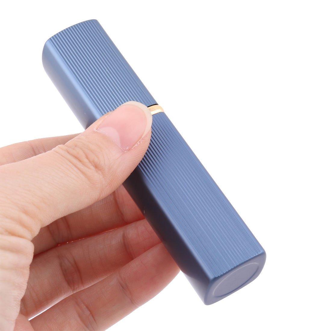 Amazon.com: eDealMax aleación DE 6 ml portátil en Forma de lápiz Labial Mini Botella del aerosol del atomizador del Perfume Caja Azul: Health & Personal ...