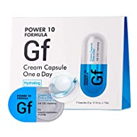 It'S SKIN Power 10 Formula GF Cream Capsule One a Day 3g 7 Count - NMF Hydrating and Soothing, High Concentration 2 in 1 Sleeping Cream Mask, Cream Ball in Serum, 1 Week Home Skin Care