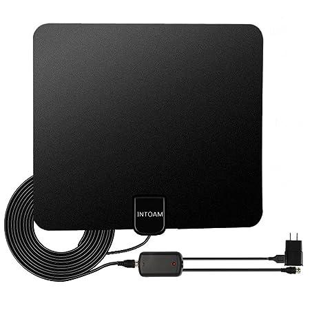 Review Amplified TV Antenna Indoor,