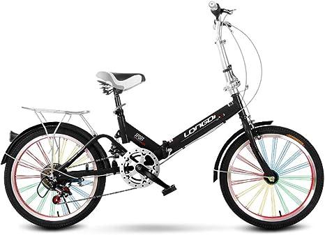 Xiaoping Bicicleta Plegable 20 Pulgadas Adultos de una Sola ...