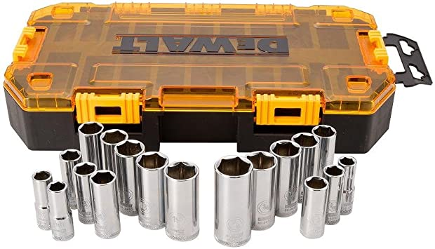 DeWalt dwmt73806 rígida caja de herramientas 3/8 de pulgada, 17 piezas, DWMT73812: Amazon.es: Bricolaje y herramientas