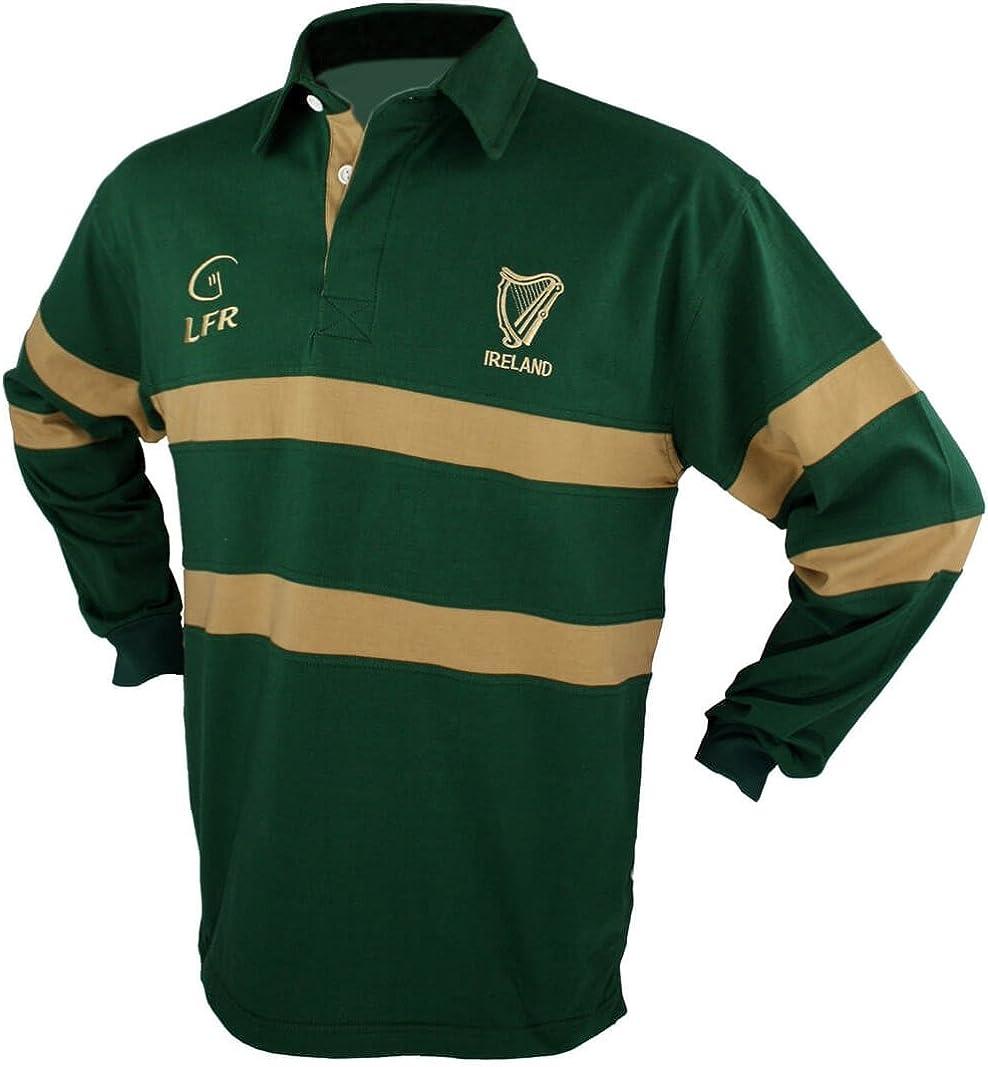 Men's Irish Harp Rugby Shirt