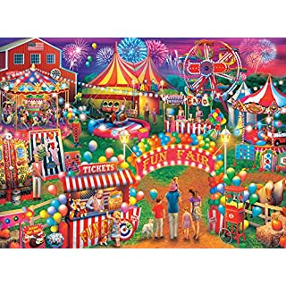 Buffalo Games - Country Life Collection - Country Fair - 1000 Piece Jigsaw Puzzle
