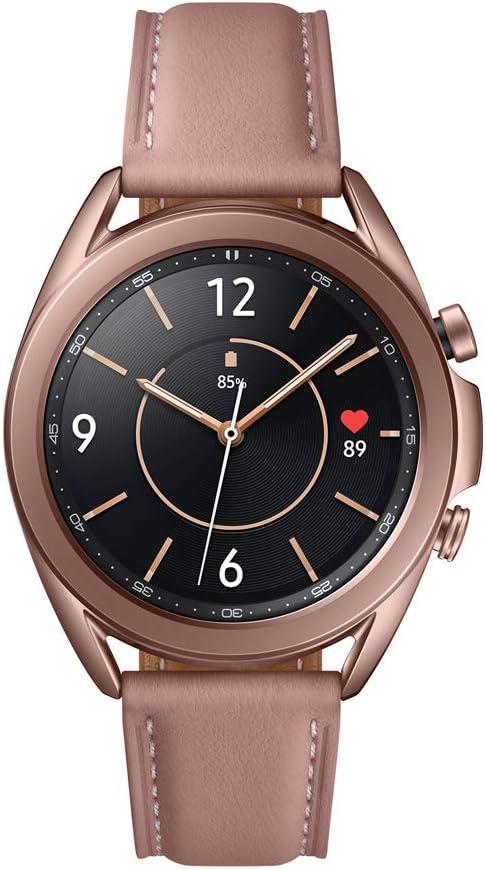 SAMSUNG Galaxy Watch3 Smartwatch de 41mm, Bluetooth, Reloj inteligente Color Bronce, Acero [Versión española] (SM-R850NZDAEUB)