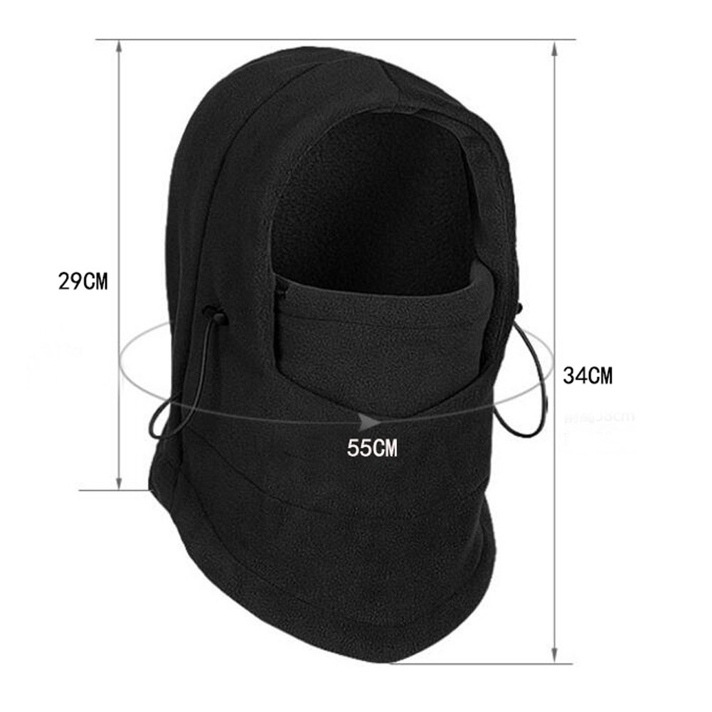 ANGTUO Kids Windproof Cap Neck Warmer Face Mask Kids Ski Balaclava. by ANGTUO (Image #3)