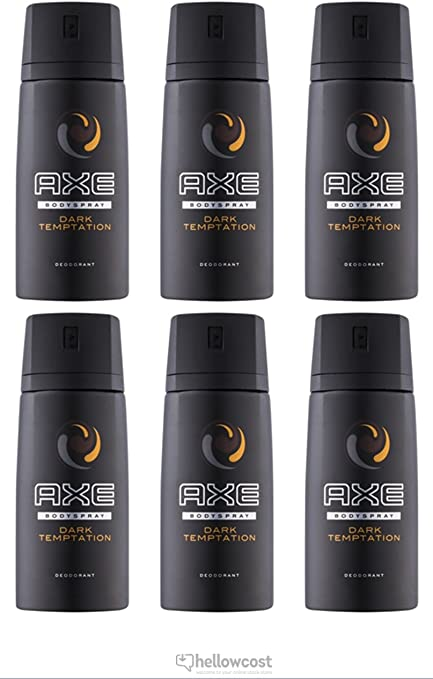 DESODORANTE AXE DARK TEMPTATION 150 ML PACK 6: Amazon.es: Belleza
