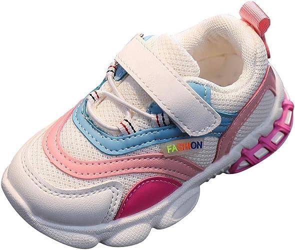Kinder Turnschuhe Sportschuhe Atmungsaktiv Laufschuhe Mädchen Freizeitschuhe