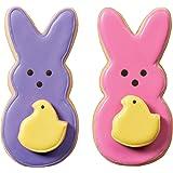 Wilton 2308-0314 2-Piece Peeps Cookie Cutter Set, Multicolor