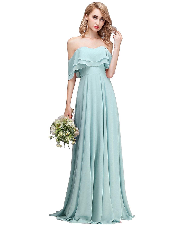4f58beadb5a Baby Blue Chiffon Bridesmaid Dresses - Gomes Weine AG