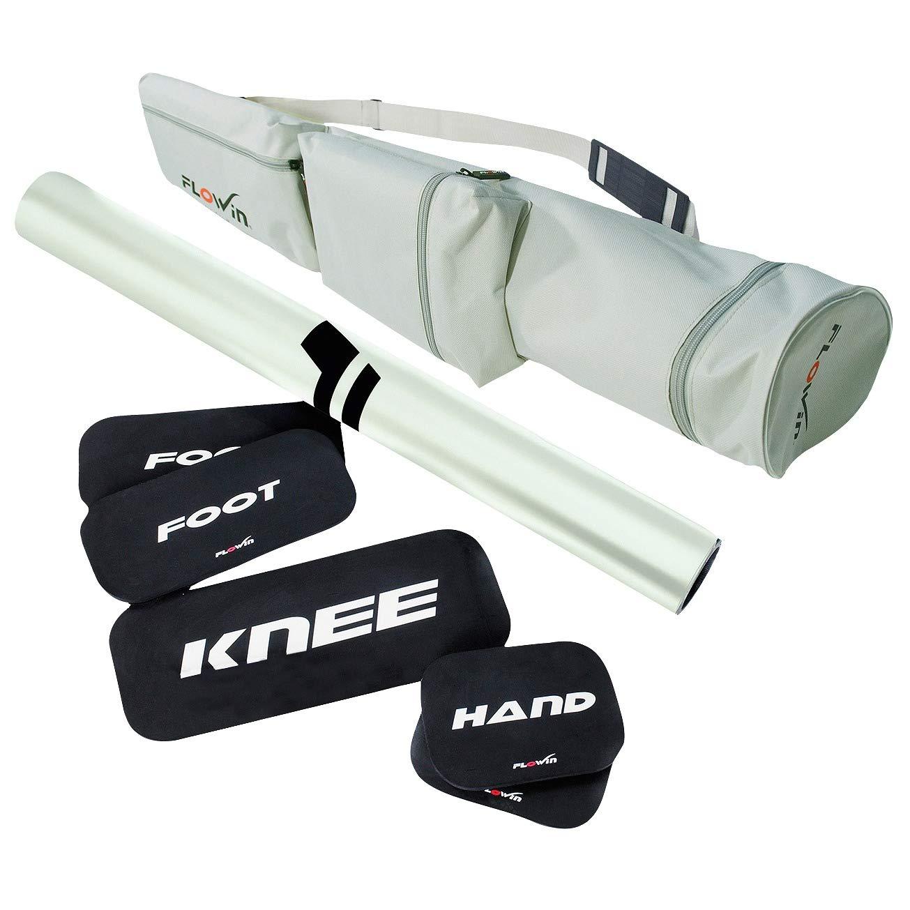 Flowin® Trainingsmatte inkl. Zubehör (Sport)