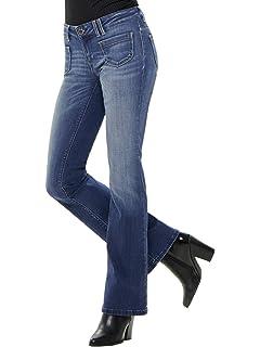 a28ea408edb0 ONLY Damen Jeanshose onlROYAL REG Sweet Flared Jeans PIM867, Blau ...