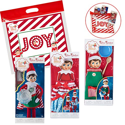 Elf on The Shelf Claus Couture 2018 Dress Up Set, with Twirling in The Snow Skirts, Sweet Shop Set, and Superhero Girl for $<!--$29.95-->