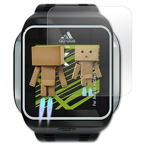 promo code da5a5 99933 atFoliX Protettore Schermo per Adidas miCoach Smart Run Pellicola a specchio  - FX-Mirror Pellicola