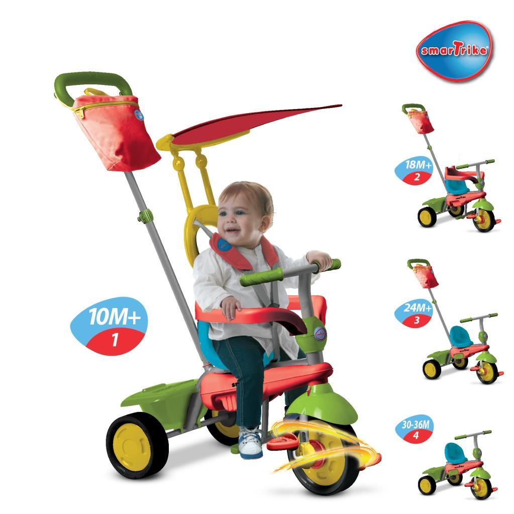 smartrike 2 in 1 fun green red amazon co uk toys games rh amazon co uk smart trike instruction manual pdf Smart Trike Parent Handle Bar
