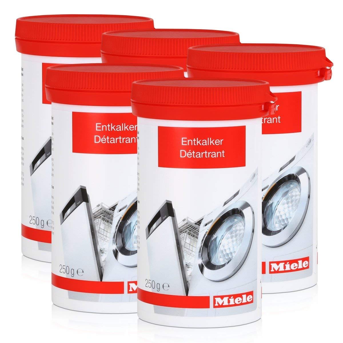 Miele descalcificador para lavadoras y lavavajillas 250 g (5 ...