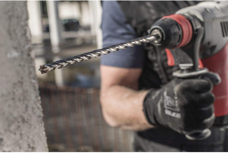 Broca para martillo perforador color plateado 260 mm de largo, 8 mm de di/ámetro ALPEN 83500800100 SDS-Plus Force X