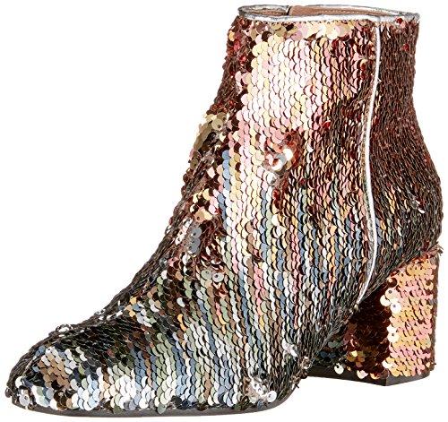 Pollini W.Ankle Boot, Stivaletti Donna Rosa (Quarzo)