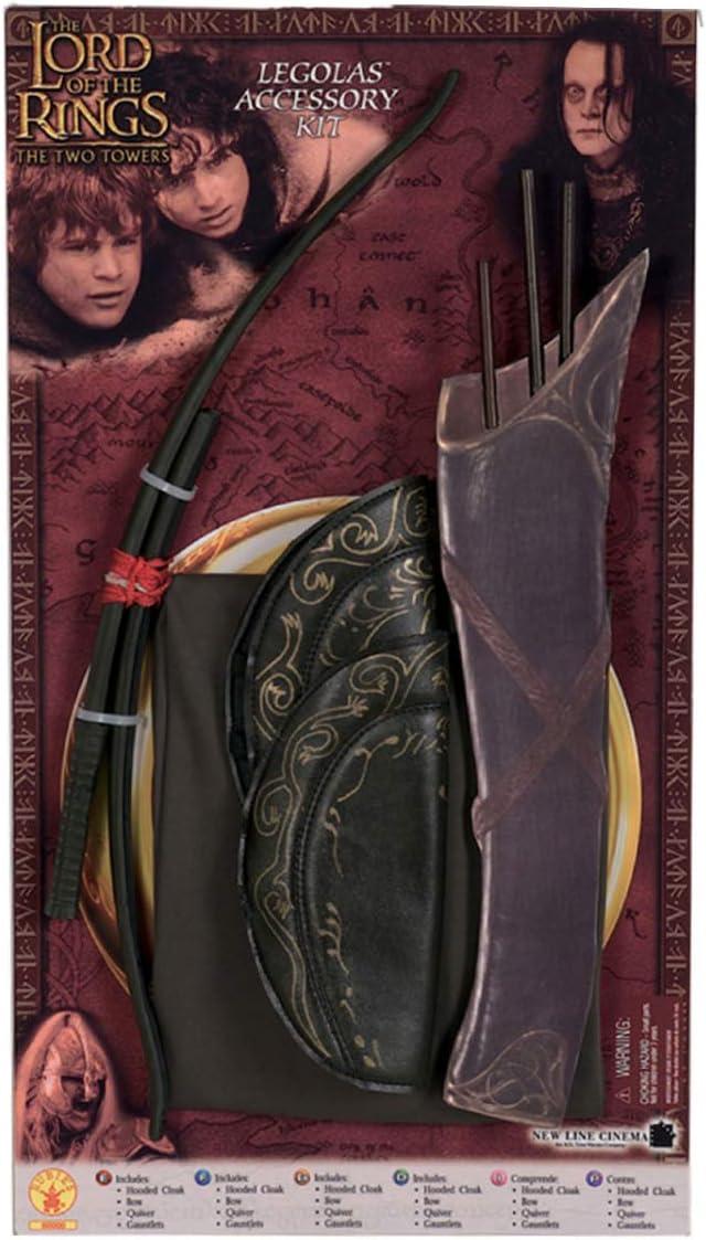 Legolas traje ajustado con el arco: Amazon.es: Juguetes y juegos