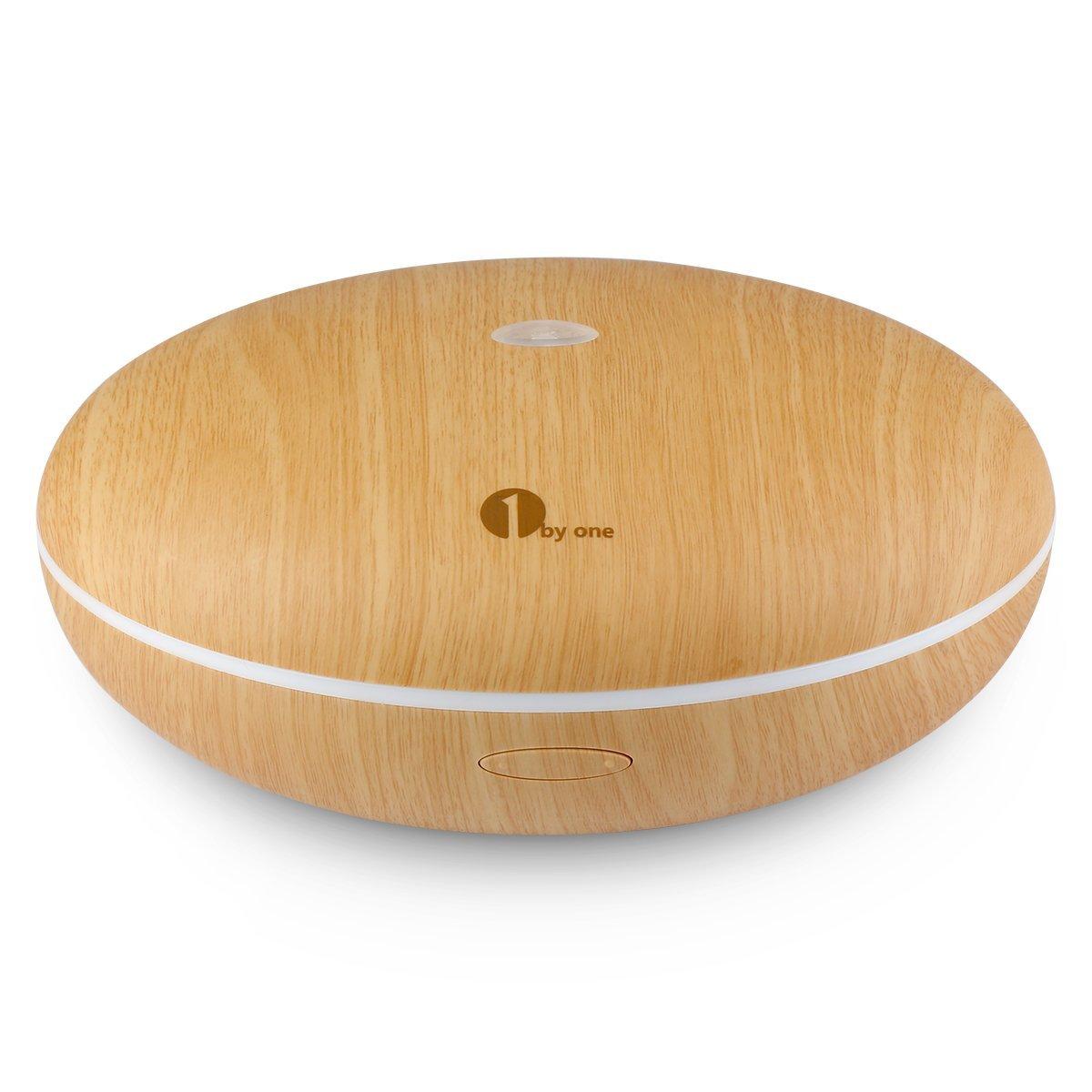 1byone Difusor de aroma, humidificador ultrasónico con Luz LED