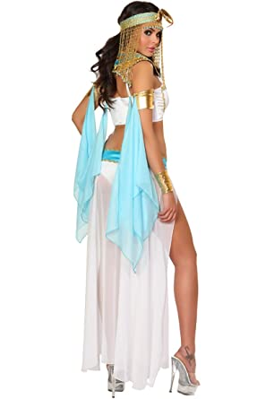3WISHES u0027Cleopatra Costumeu0027 Sexy Egyptian Hallowen Costumes for Women  sc 1 st  Amazon.com : egyptian girl costume  - Germanpascual.Com