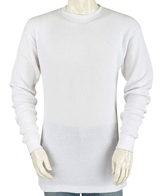 46cfb1b4414a Styllion - Big and Tall Mens Thermal Shirt - Heavy Weight - 100% Cotton (